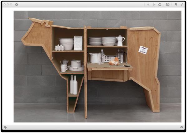 Animal Shaped Furniture