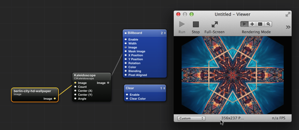 Added the Kaleidoscope effect